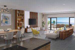 Luxury apartment 3D visualization