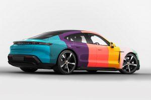 Porsche Taycan 3D concept