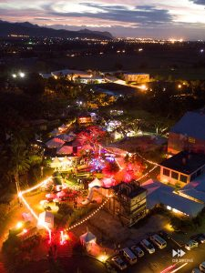 Drone event photography